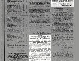 160765/1944 É. M. K. sz. rendelet