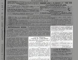 2230/1944 M. E. sz. rendelet