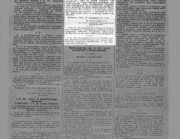 Az orvosi munkaerők felhasználása kormánybiztosának 3040/1944. K. sz. rendelet
