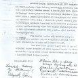 Lengyel internáltak levele Endre embermentő tevékenységéről (1945)