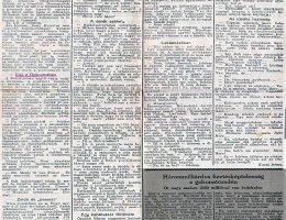Ahogy az antiszemita Szózat a zsidónegyedet bemutatta (1925)