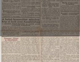 A Magyar Hírlap Vázsonyira emlékező cikke