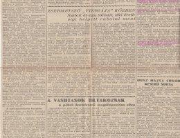 A Nemzeti Ujság cikke az 1934. tavaszi, pécsi zsidóverésekről