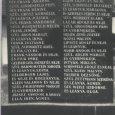 A biharnagybajomi áldozatok névsora a helyi temetőben
