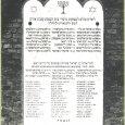A budapesti Sevesz Achim Egylet meggyilkolt tagjainak emlékműve a rákoskeresztúri zsidó temetőben