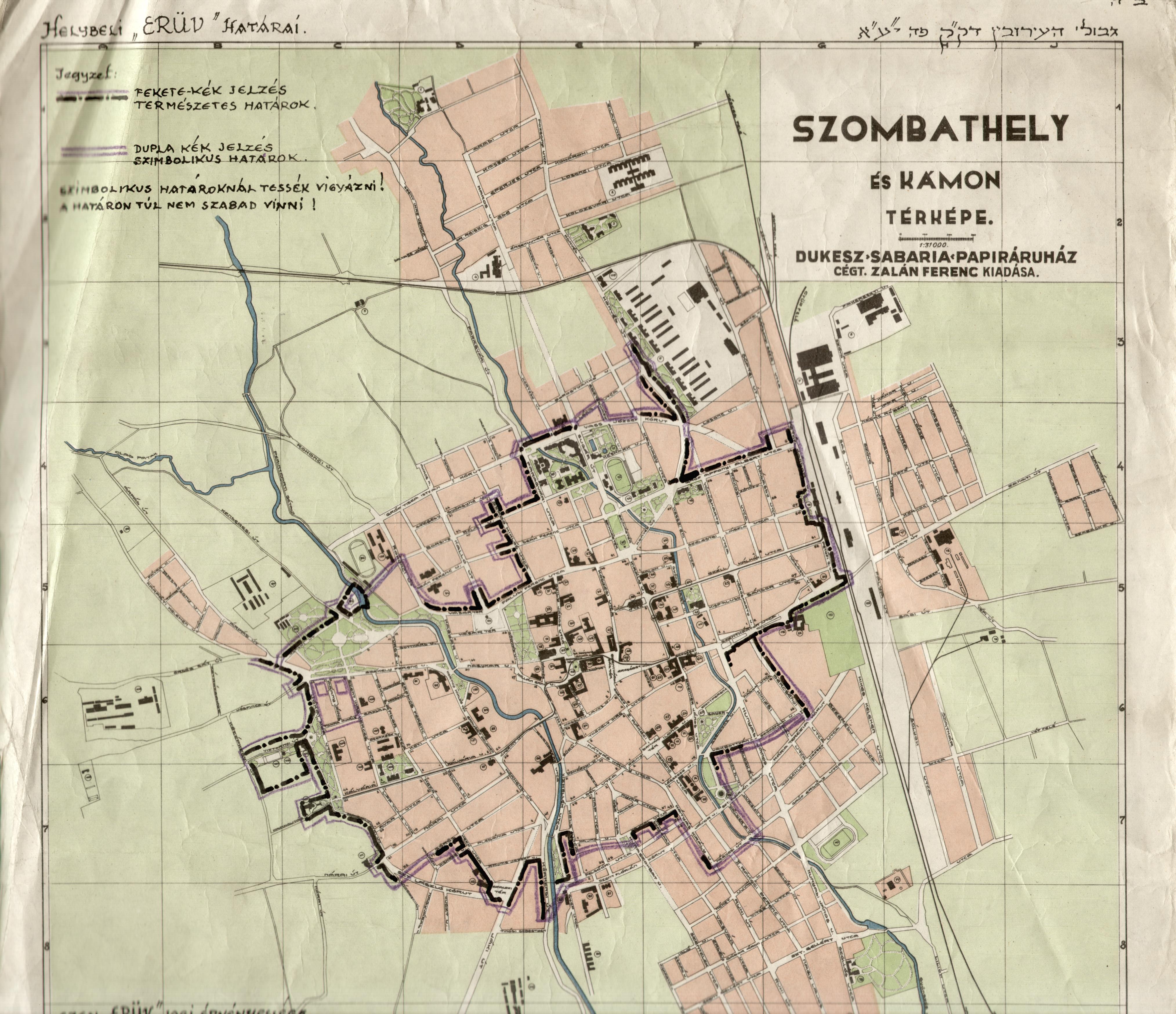 szombathely térkép Flódni +   Rejtett archívumok szombathely térkép