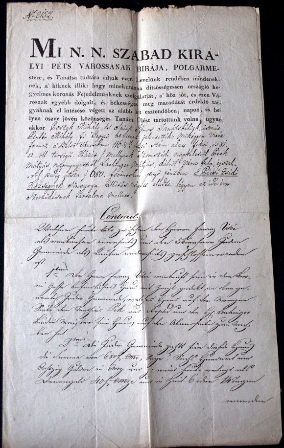 Purchase and sales contract (1841)