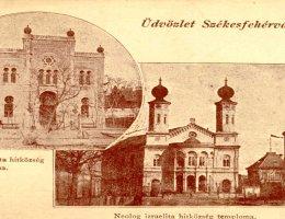 Székesfehérvár, az ortodox és a neológ zsinagóga 1944 előtt