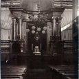 Érsekújvár, a zsinagógabelső 1944 előtt