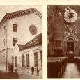 Pápa, a zsinagógaépület és a belső tér 1944 előtt